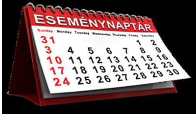 Eseményeink, programjaink időpontjai